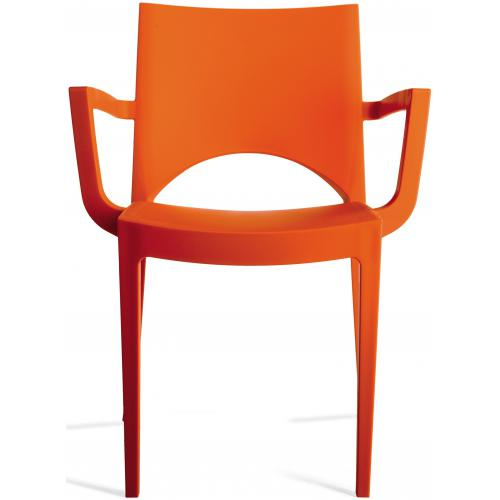 3S. x Home - Chaise Design Orange BAYERN - Chaise