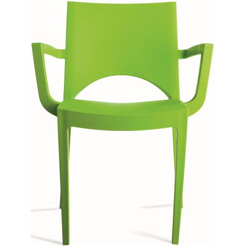 3S. x Home - Chaise Design Verte PALERMO - Meuble & Déco