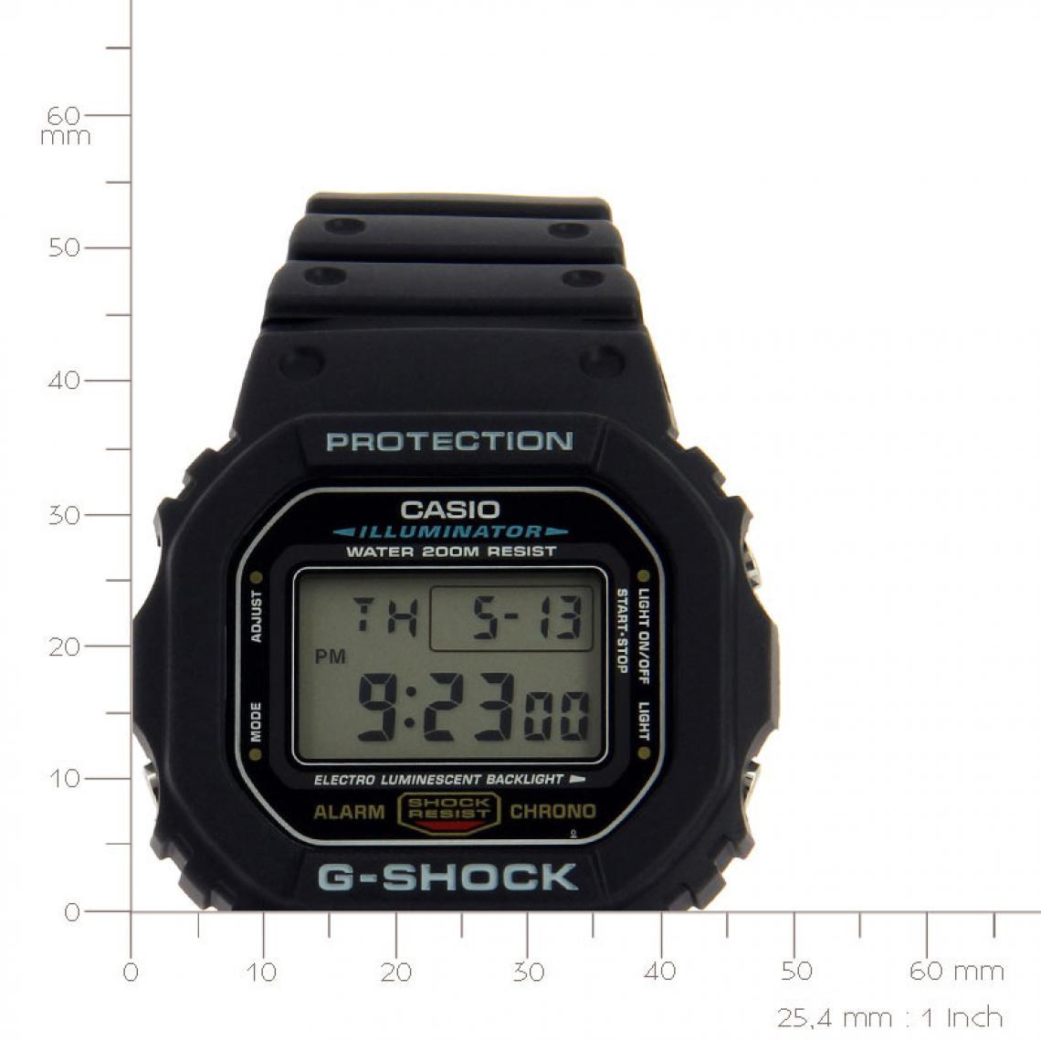 Montre Casio G Shock Master of G DW 5600E 1VER Casio Montres  tQEiN