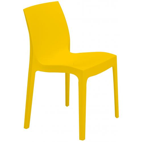 3S. x Home - Chaise Design Jaune ISTANBUL - Chaise