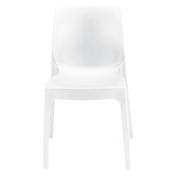 Chaise Design Blanche ISTANBUL 3Suisses