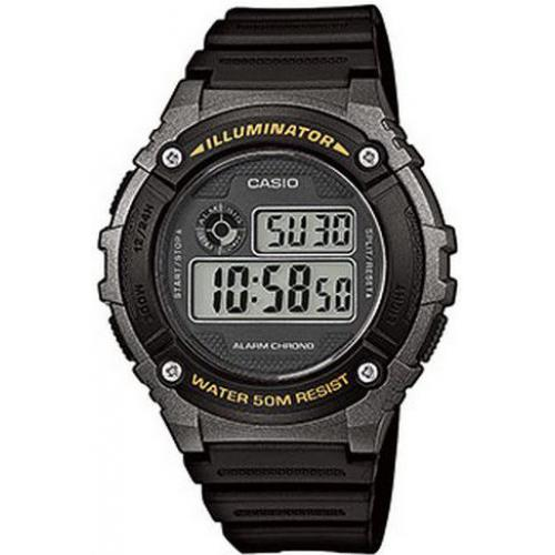 Casio - Montre Casio Collection W-216H-1BVEF - Montre Digitale Multifonction Homme - Montre & bijou