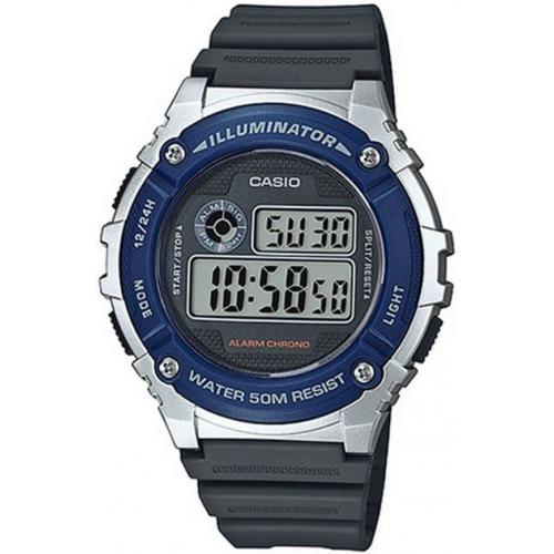 Casio - Montre Casio Collection W-216H-2AVEF - Montre Digitale Multifonction Homme - Montre & bijou
