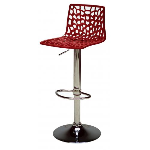 3S. x Home - Tabouret De Bar Design Bordeaux SPARTE - Chaise, tabouret, banc