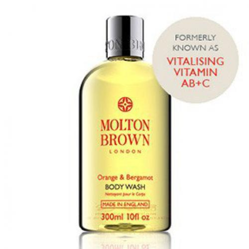 Molton Brown - Bain douche vitaminé Orange & Bergamote - Beauté