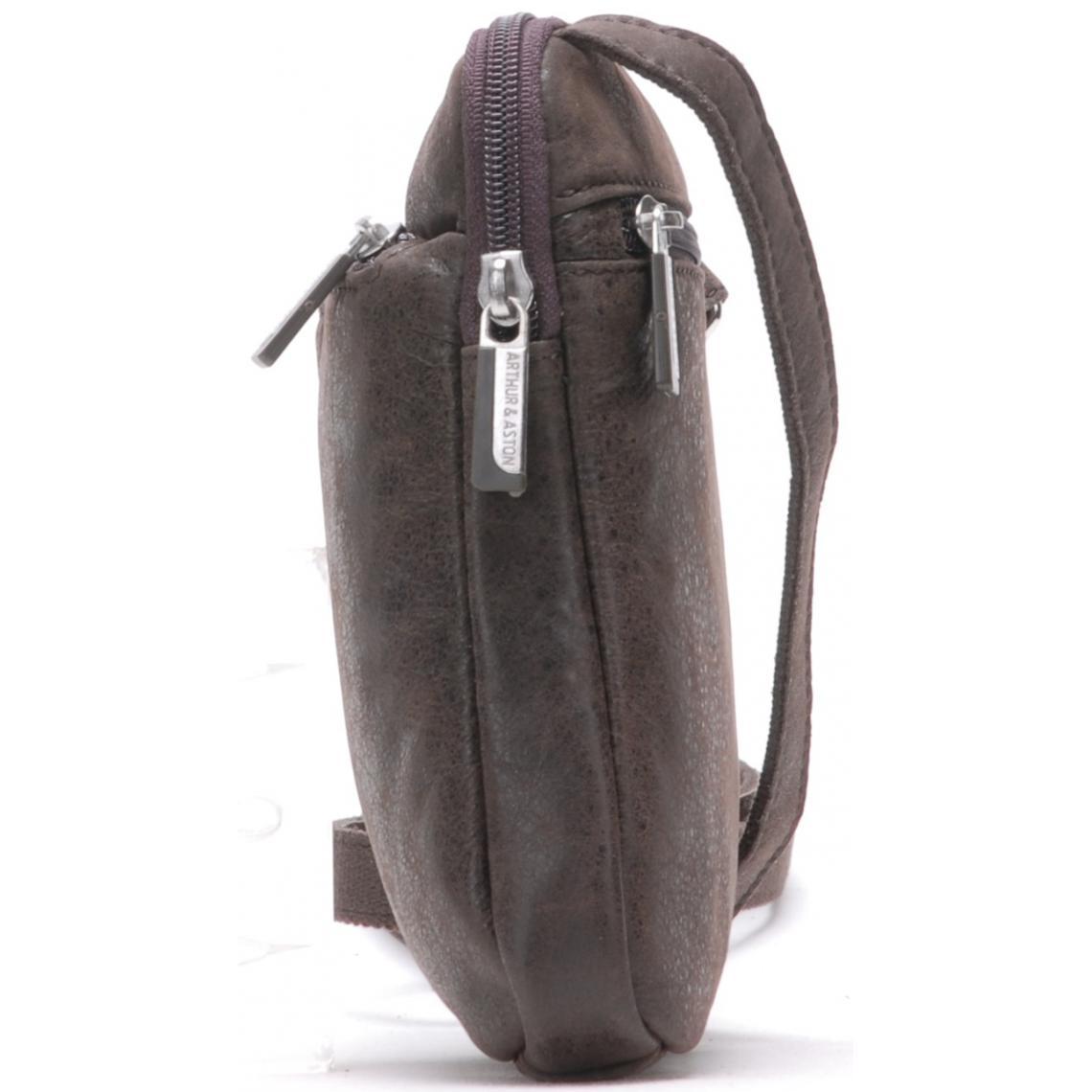 Cuir De Vachette C Est Quoi pochette besace - cuir de vachette-arthur & aston plus de détails