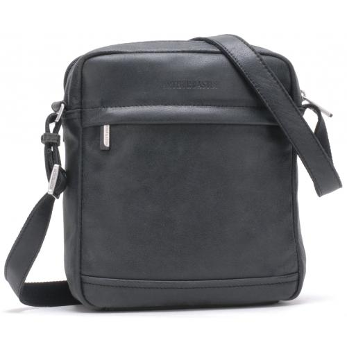 Arthur & Aston - SAC TRAVERS BANDOULIERE DESTROY - Cuir de vachette - Mode - Promotions