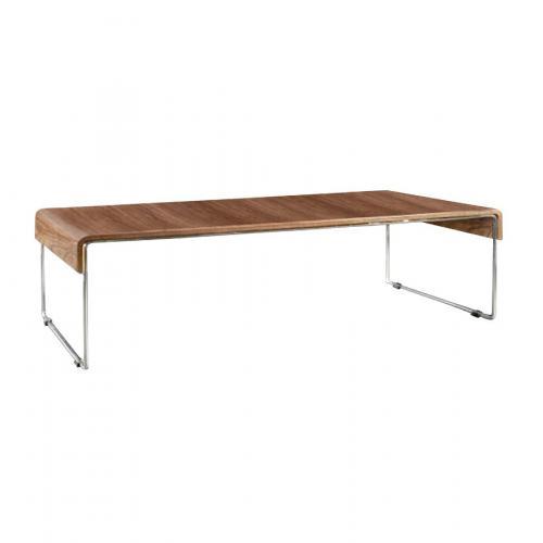 table basse marron en m tal lorene 3 suisses. Black Bedroom Furniture Sets. Home Design Ideas