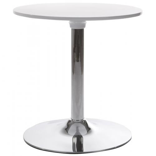 3S. x Home - Table basse blanche en métal MADISON - Table basse