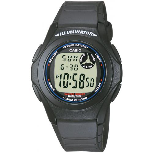 Casio - Montre Casio Collection F-200W-1AEF - Homme - Montre & bijou