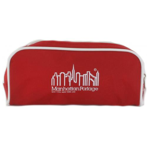 Manhattan Portage - Trousse Manhattan Portage - Rouge - Trousse de toilette