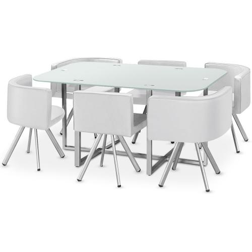 3S. x Home - Table Mosaic XL Blanc - Table