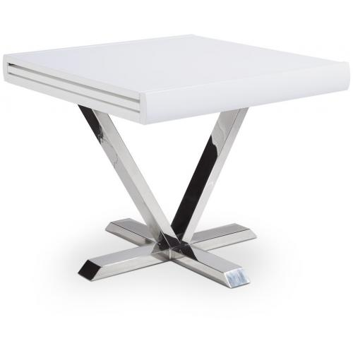 3S. x Home - Table Regine Blanche Extensible - Table