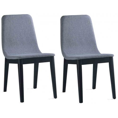 3S. x Home - Lot de 2 Chaises FELICIE - Chaise
