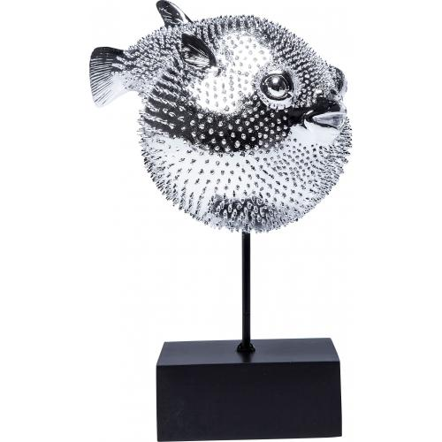 KARE DESIGN - Figurine décorative Blowfish - Statue, figurine