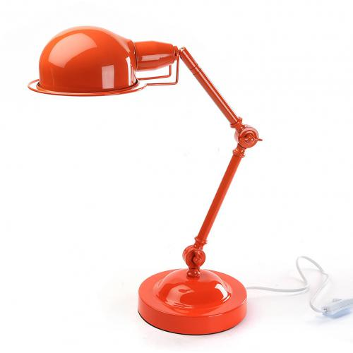 3S. x Home - Lampe de bureau orange H.45 cm - Lampe