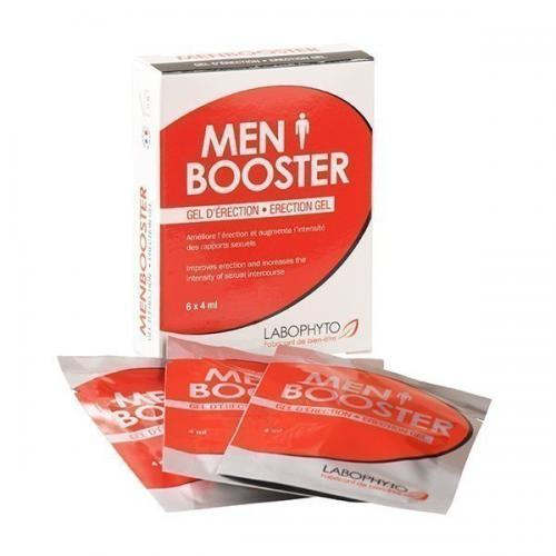Labophyto - Men Booster Gel d'erection sachets - Sexualité