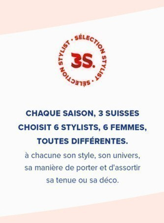 Les Stylists 3Suisses
