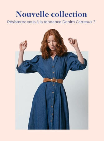 Denim Carreaux