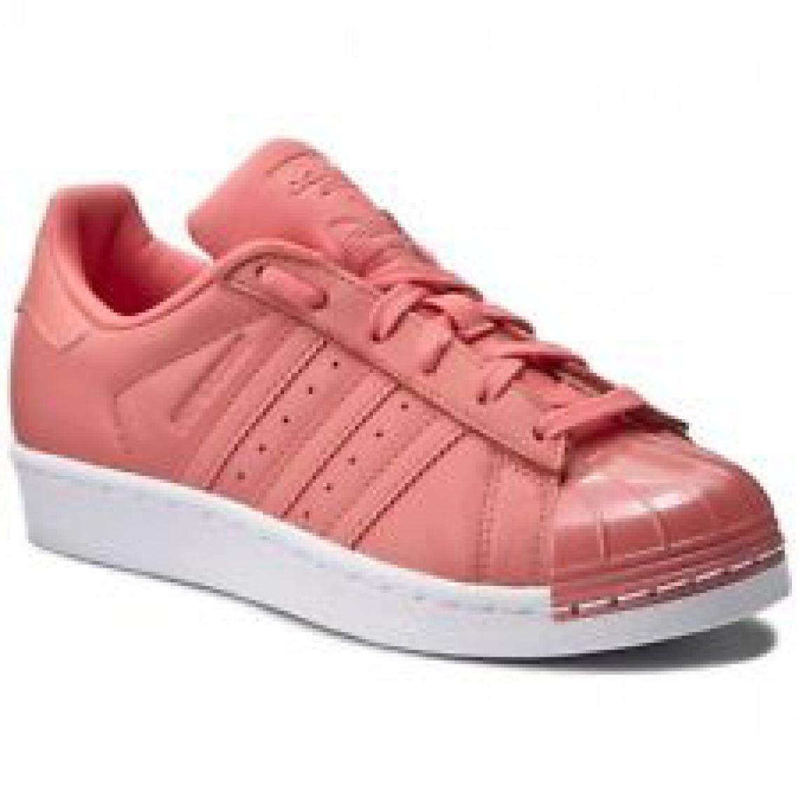 Basket basse à lacets Adidas Originals fille Rose | 3 SUISSES