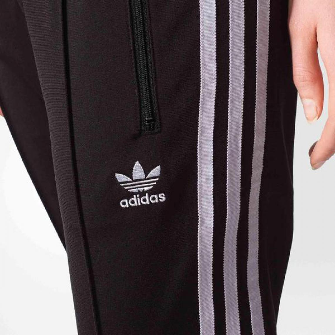 Pantalon jogging 3 bandes Adidas Originals femme Noir 1 Avis