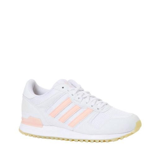 Adidas Originals - Basket basse Adidas Original blanches et roses femme - Baskets