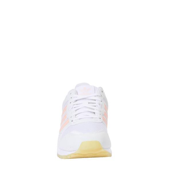 Basket basse Adidas Original blanches et roses femme 3 Avis Plus de détails