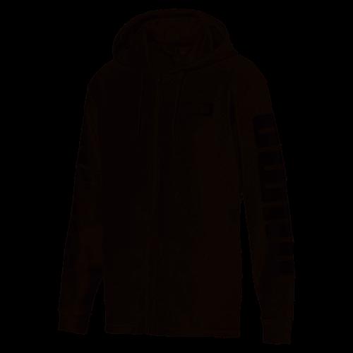 bc9a224407870 Puma - Veste zippée manches longue à capuche imprimée PUMA homme - Gris -  Sweathirt /