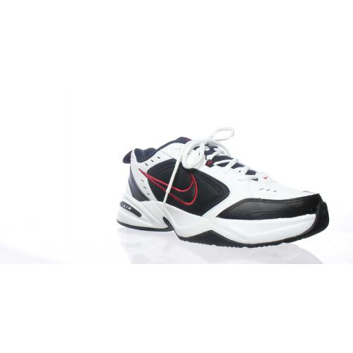 Nike - Baskets homme Air monarch blanc/noir 40 - Baskets de sport