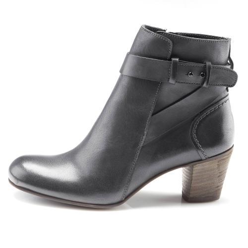 9e43248d713b0f Kickers - Bottines à talons gris métallisé femme - Bottes / Bottines