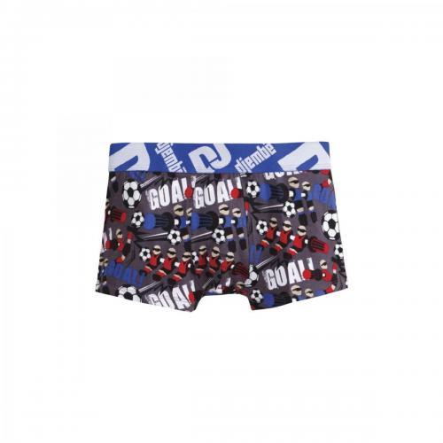 d4d3b5463e0e3 Pomm Poire - Boxer imprimé Babyfoot POMM'POIRE garçon - Bleu - Promotions  Vêtements enfants