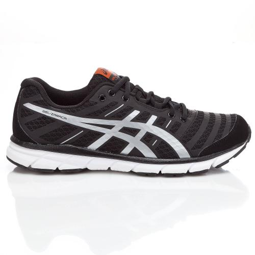 Baskets running noir Asics Homme