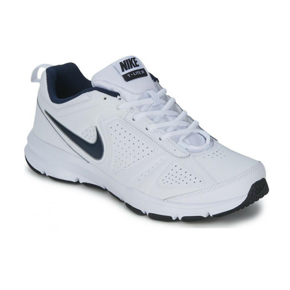 grossiste 3a3a9 32ab8 Chaussure de course à lacets Nike homme - Blanc | 3 SUISSES