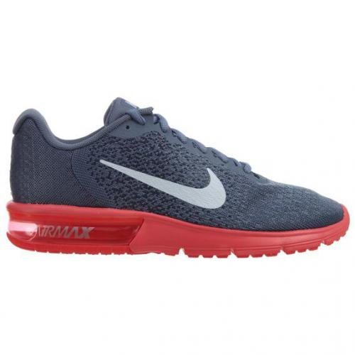 Nike - Sneaker Air max Nike homme - Gris et Rouge - Chaussures Nike