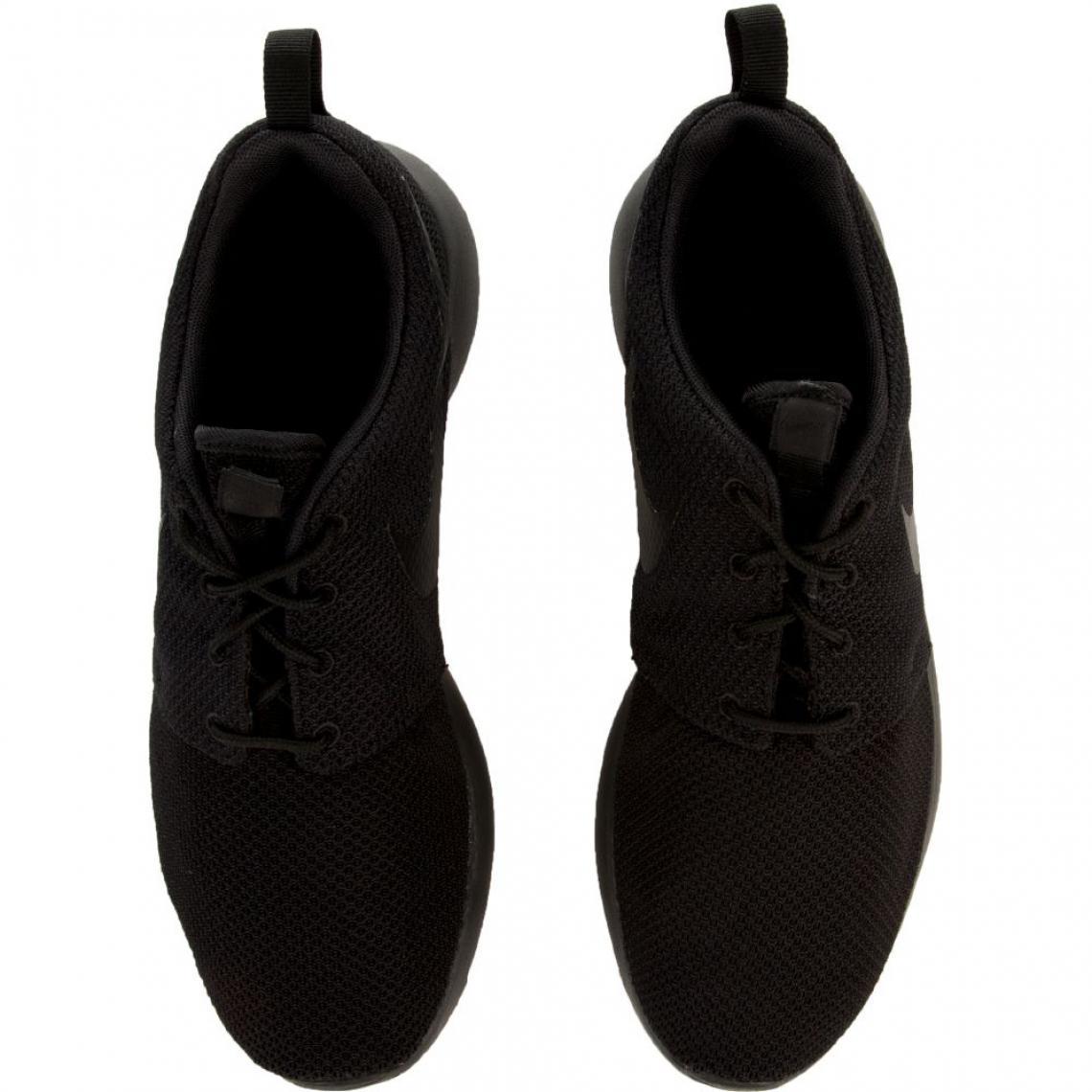 Tennis basse à lacets Nike homme uni Noir