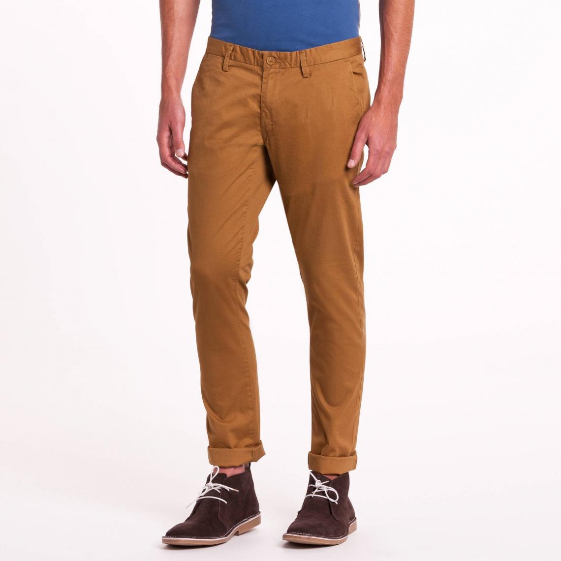 nouveau style dcf2e 0acb7 Pantalon chino slim camel Teddy Smith | 3 SUISSES