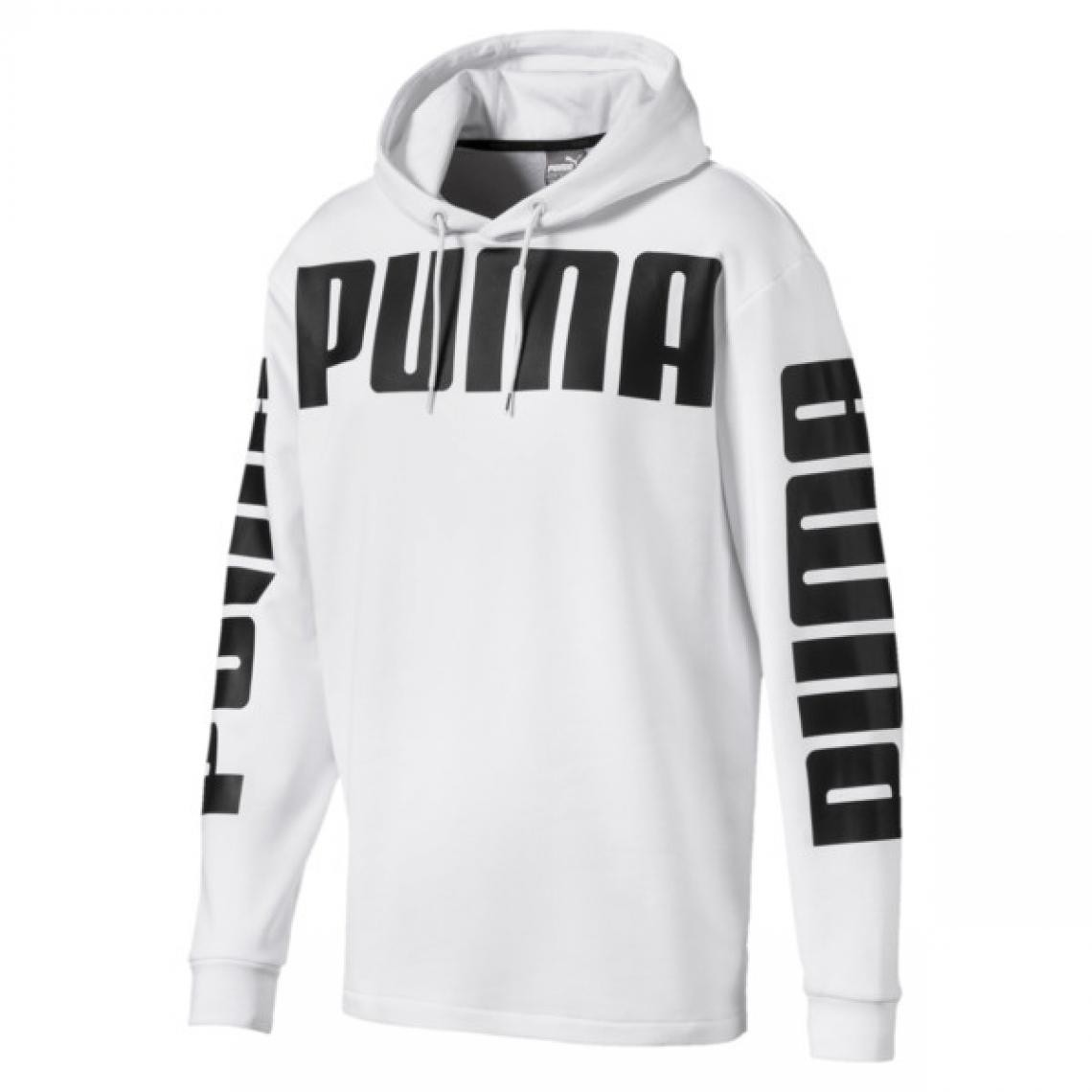 sweatshirts puma homme blanc