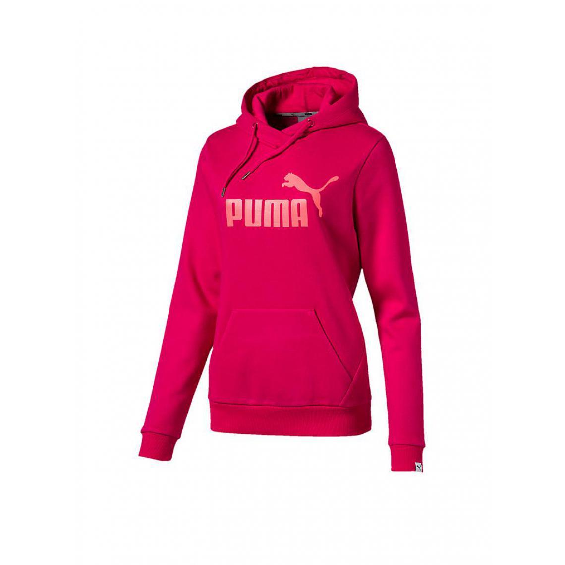 Manches Suisses Capuche Rose3 Longues À Puma Femme Veste EWe2bHIYD9