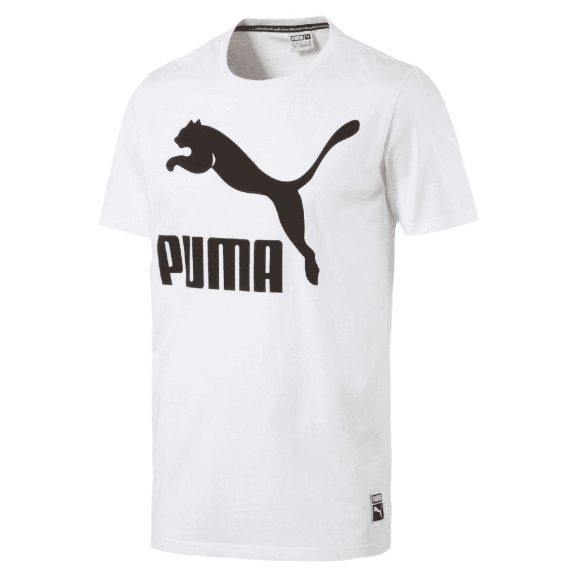 Tee shirt manches courtes col rond PUMA homme Blanc | 3