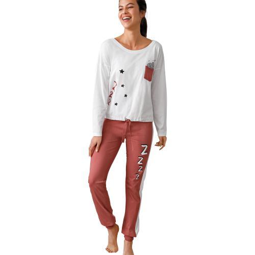 prix spécial pour coupon de réduction magasin discount Pyjama, motifs imprimés koala Blanc,Rose - Venca