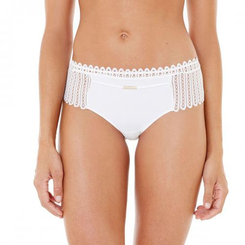 Morgan Lingerie - Shorty String ivoire Mila-blanc - Shorties, boxers