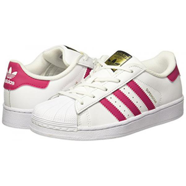 Baskets Superstar Adidas Originals fille - Blanc et Rose Adidas Originals Homme