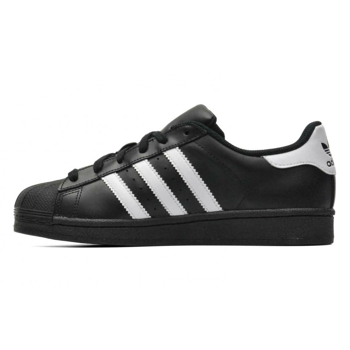 nouveaux styles 1532c bb52e Baskets Superstar Adidas Originals garçon - Noir et Blanc ...