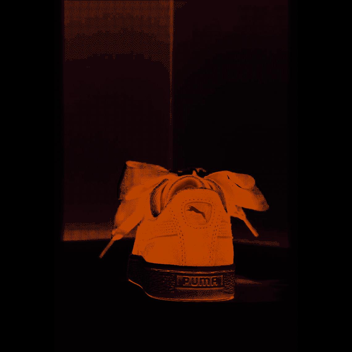 basket puma femme ruban