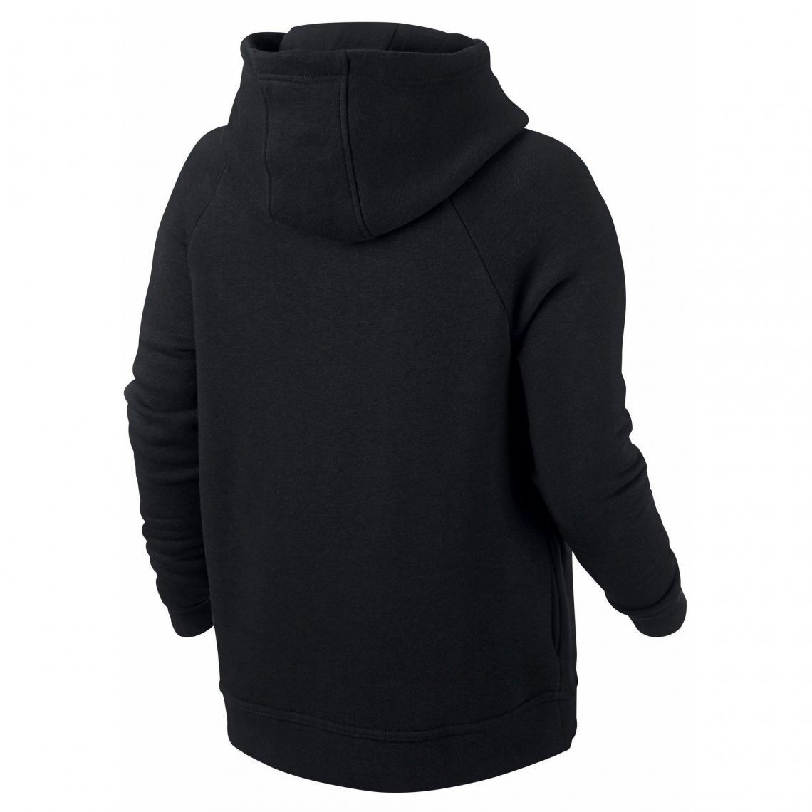 f530b8091db43 Sweat zippé à capuche Nike femme - Noir | 3 SUISSES