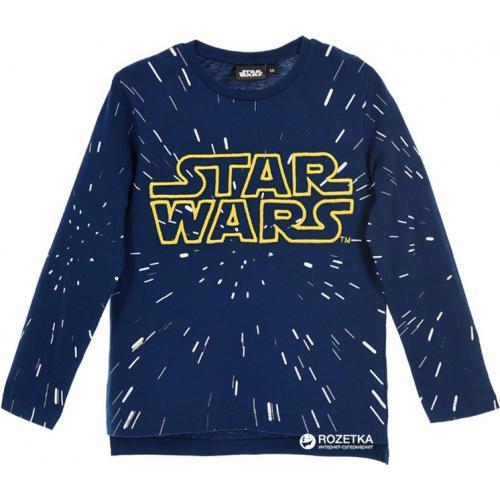 806737ec7b358 Starwars - Sweatshirt manches longues imprimé Starwars garçon - Bleu - Pull  / Gilet / Sweatshirt