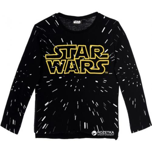 f2d203ec505a9 Starwars - Sweatshirt manches longues imprimé Starwars garçon - Noir - Pull  / Gilet / Sweatshirt