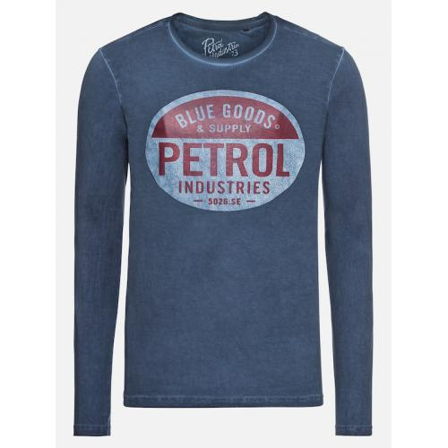 Petrol - T-shirt manches longues homme ble.mrn s - T-shirt / Polo