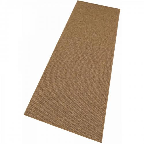 my home - Tapis de Couloir Tissé Aspect Sisal Beige My Home - Tapis