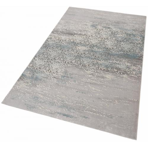 my home - Tapis Rectangulaire Gris 60x90 cm THAMI - my home